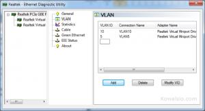 Tworzenie VLANów