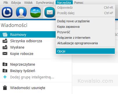 Nokia Suite - Udostępnianie połączenia Aero2