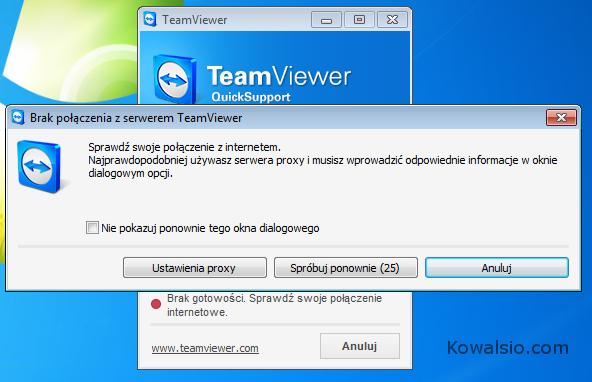 TeamViewer zablokowany