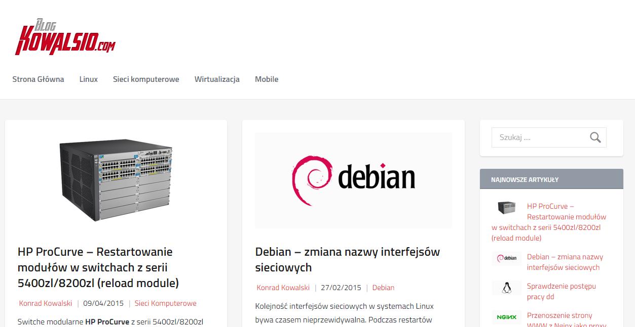 Blog - nowy wygląd