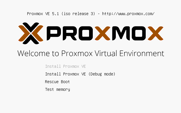 Instalacja Proxmox