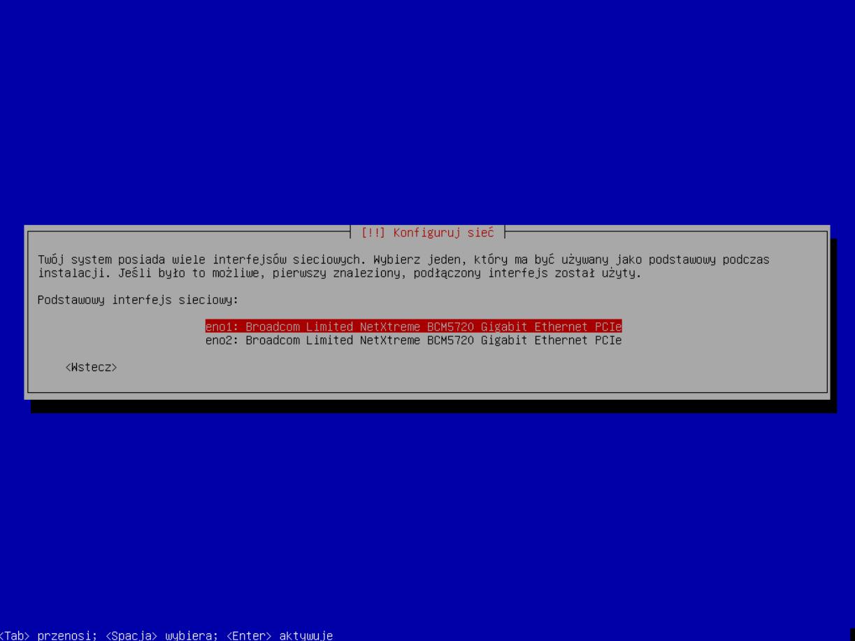 DELL PERC H740P - Instalacja systemu Debian 9