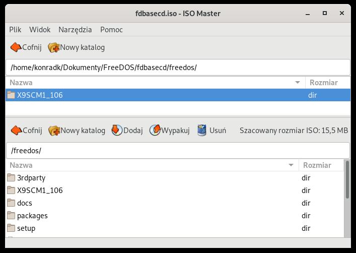 ISO Master - dodawanie plików do obrazu ISO