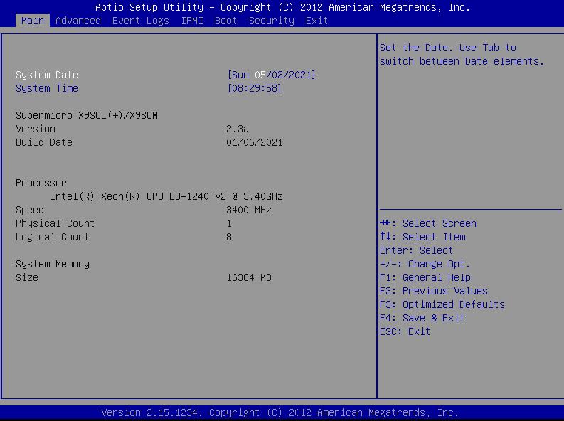 Supermicro - BIOS został zaktualizowany
