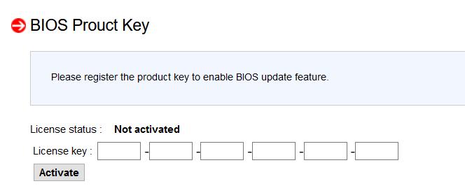 Supermicro - opcja aktualizacji BIOS przez IPMI przed aktywacją licencji
