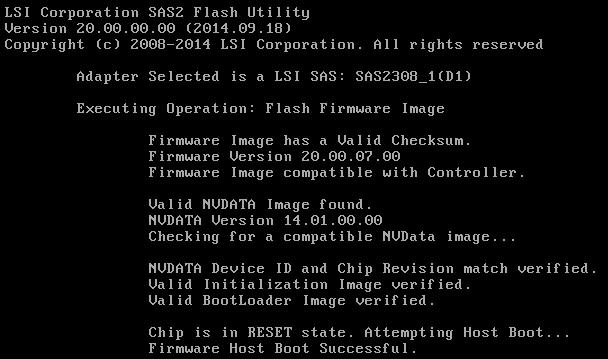 Supermicro SAS 2308-IR (aktualizacja firmware)
