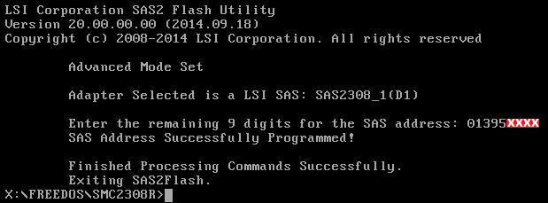 Supermicro SAS 2308-IR (aktulizacja zakończona)